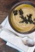 Palsternackssoppa med päron och salvia