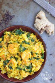 Räk- och fiskcurry med kål