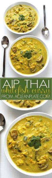 Thaicurrygryta med fisk