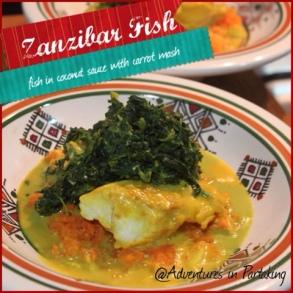 Kokosfisk från Zanzibar