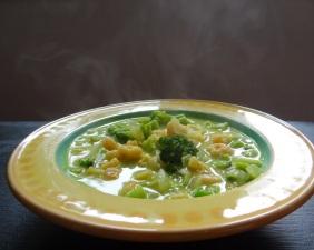 Räkgryta med kokos och curry